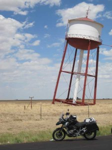Water tower in Groom Texas