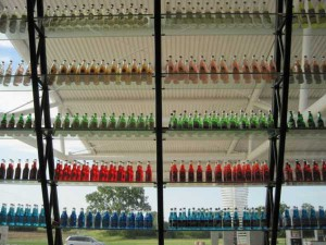 Pops bottle wall Route 66